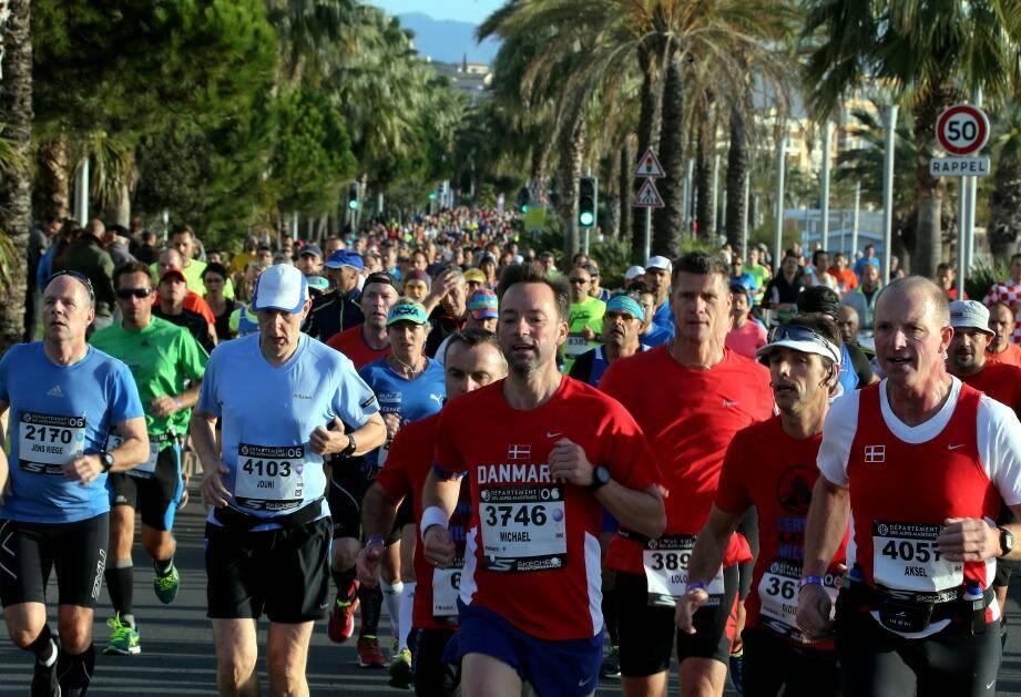 Marathon Nice-Cannes, dimanche 13 novembre 2016