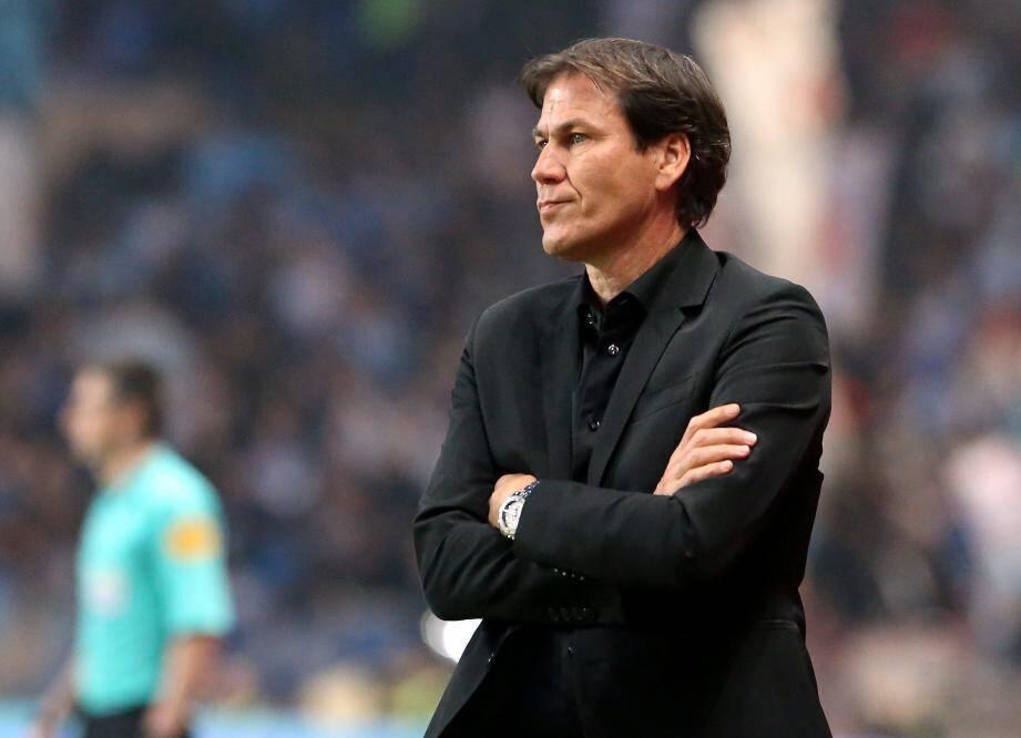 L'entraîneur de l'OM, Rudi Garcia.