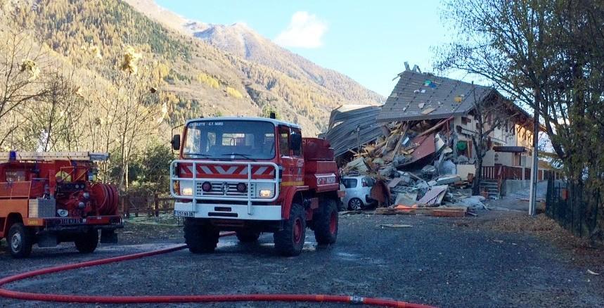 L'immeuble s'est effondré ce lundi après-midi