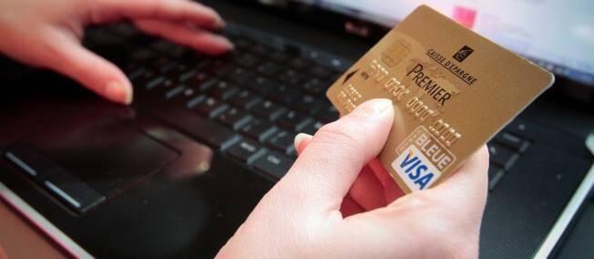 Illustration paiement carte de crédit