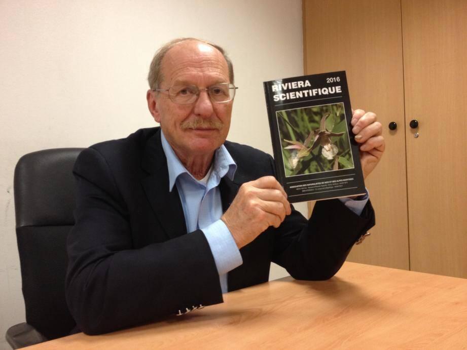 Gilbert Mari présente le 100e numéro de Riviera scientifique. Une merveille de la nature.