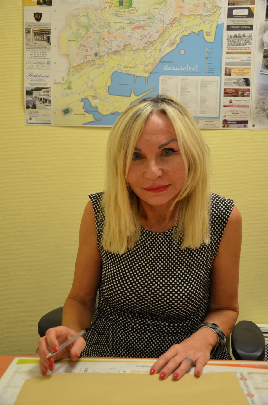 Danille Lisbona, présidente de Familles de France 06.