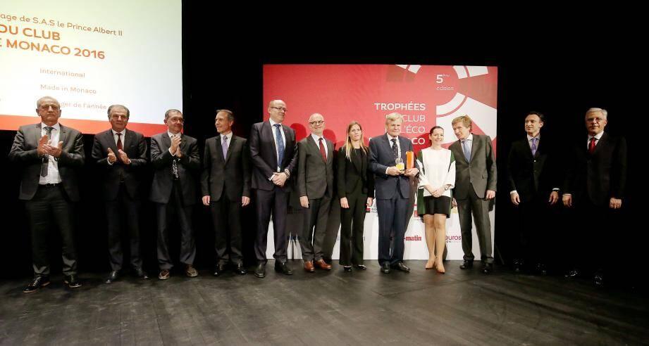 Six trophées ont été remis hier soir au Grimaldi Forum, en présence du ministre d'Etat Serge Telle et devant près de 400 décideurs économiques de la Principauté.