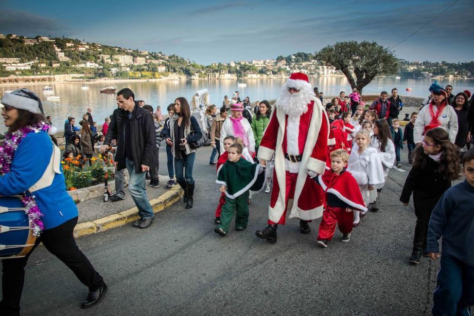Le Père Noël sera bien présent cette année encore sur la commune.
