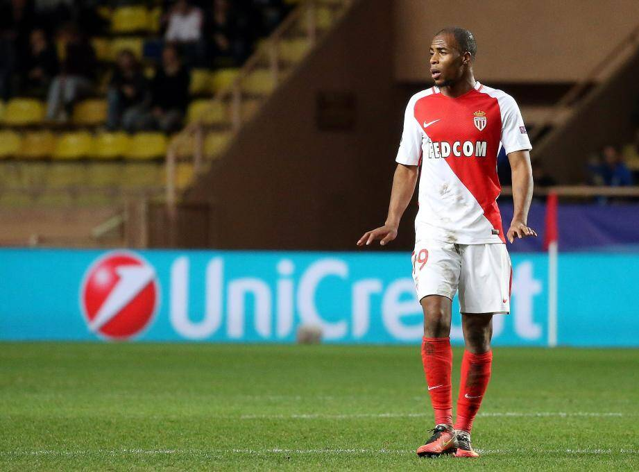 Djibril Sidibé, le latéral galopant de l'AS Monaco.