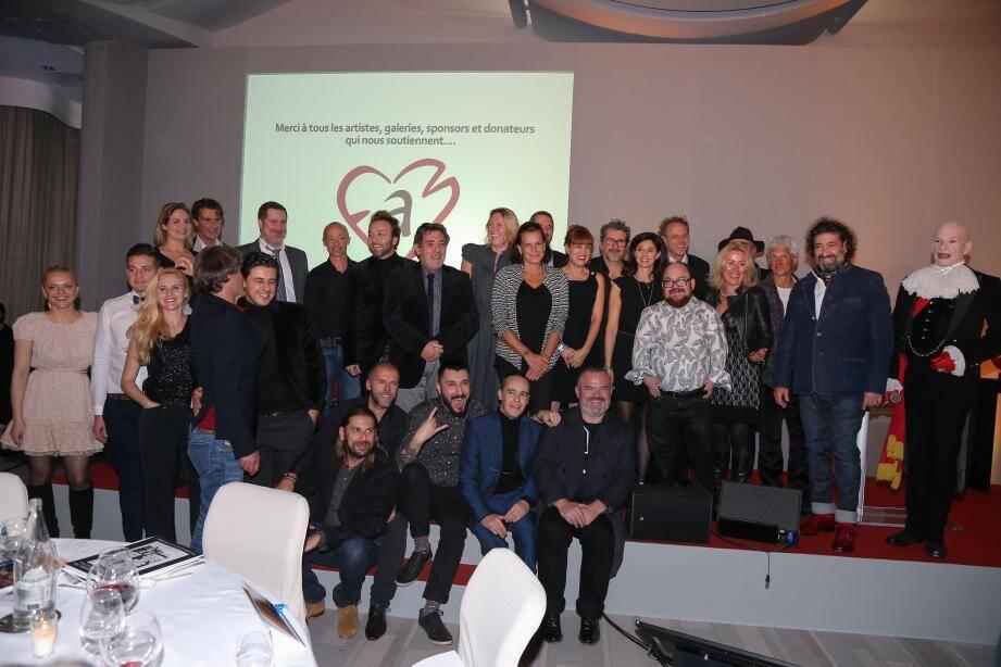 Plus de 200 personnes ont participé à la soirée de Fight Aids Monaco.
