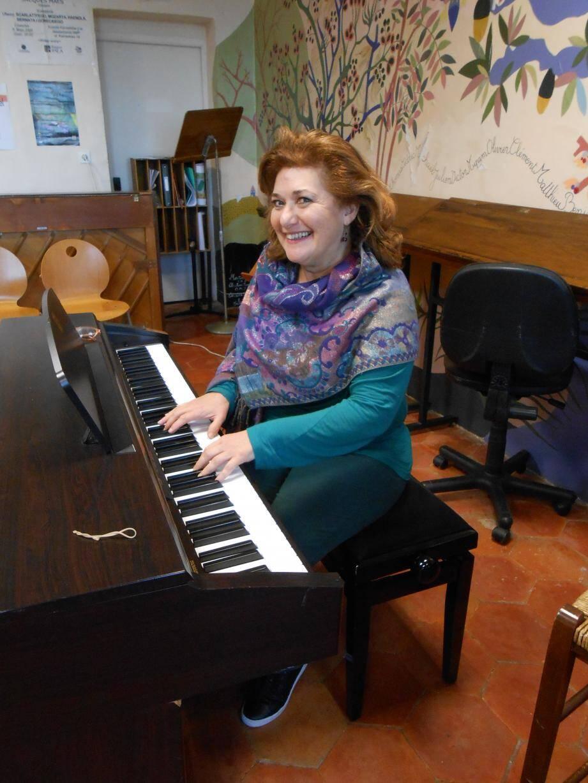 C'est à Aubagne qu'Isabelle Ankry enseignait le chant ces dix dernières années.