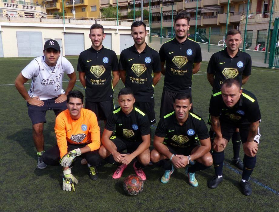 L'équipe du FC Diamond a marqué la bagatelle de 49 buts au cours de la première phase du championnat de foot à 7.