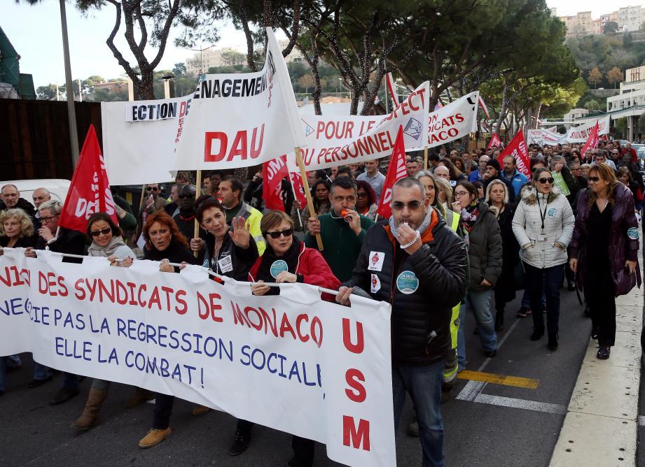 Salariés et retraités de Monaco se sont mobilisés, hier après-midi, pour demander plus de salaire et le maintien des retraités à la CCSS, quels que soient leur nationalité et leur lieu de domicile.