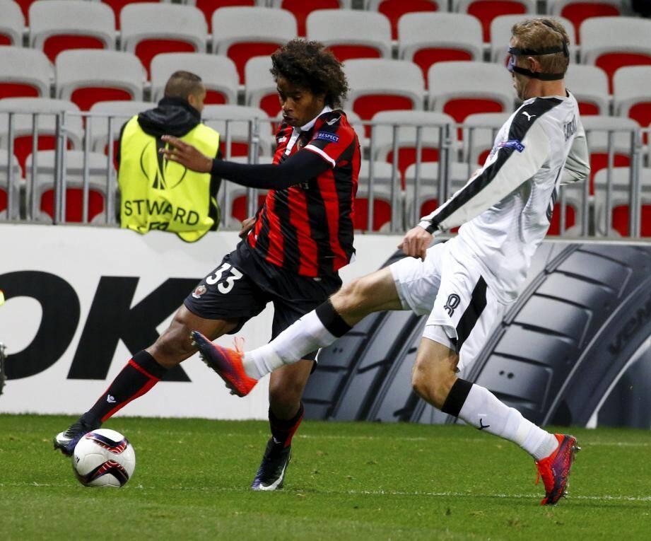 Marcel et les Niçois terminent leur coupe d'Europe sur une victoire face à Krasnodar.