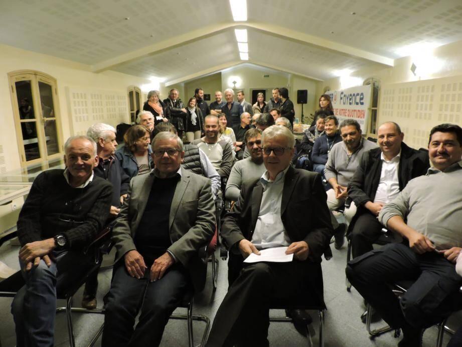 Les élus et les membres de l'UEPF : les mêmes idées, les mêmes objectifs. C.G