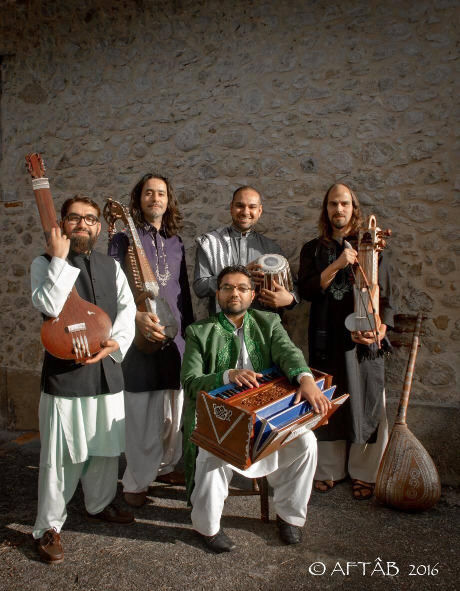 Le groupe Aftâb. (DR)
