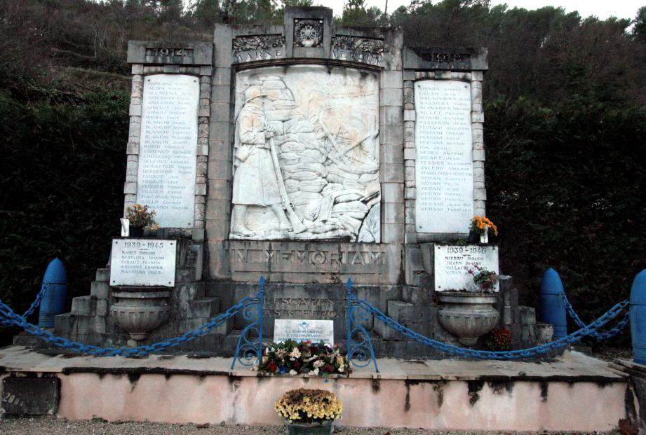 Pour mieux le mettre en valeur le monument aux Morts sera déplacé.