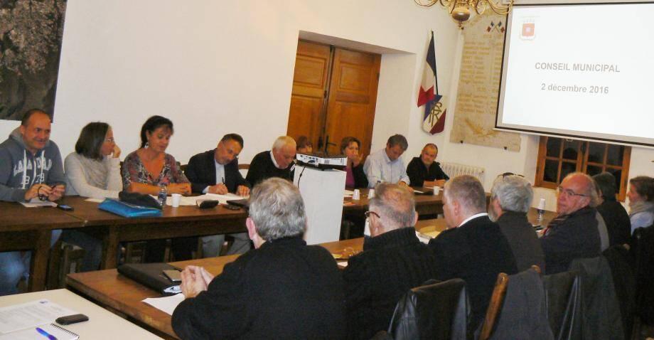 Dernier conseil municipal de l'année à Tourrettes-sur-Loup.