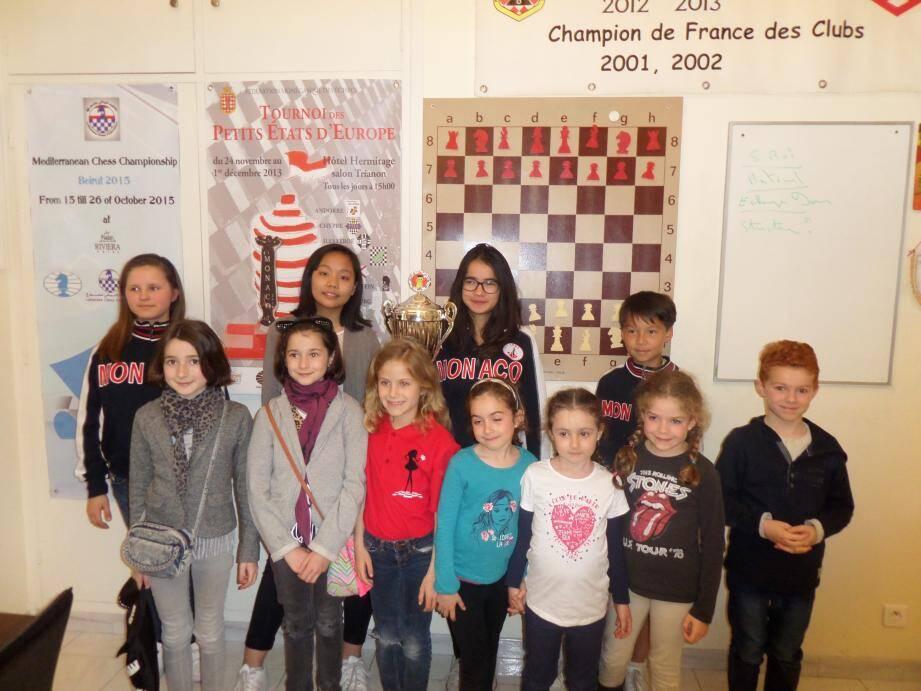 Les petits sociétaires du club d'échecs monégasque tenteront de briller sur leurs terres au cours du Top 16 jeunes qui se tiendra ce week-end au Novotel.