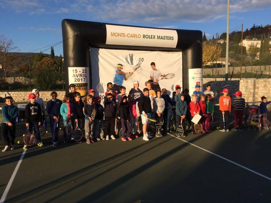 Les jeunes tennismen en route pour le Monte-Carlo Rolex Masters.