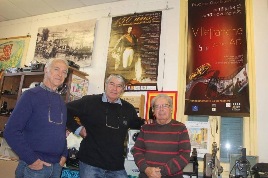 Jean-Luc Belugou, Jean-Louis Pagnotta et Claude Audibert : un trio passionné et passionnant.