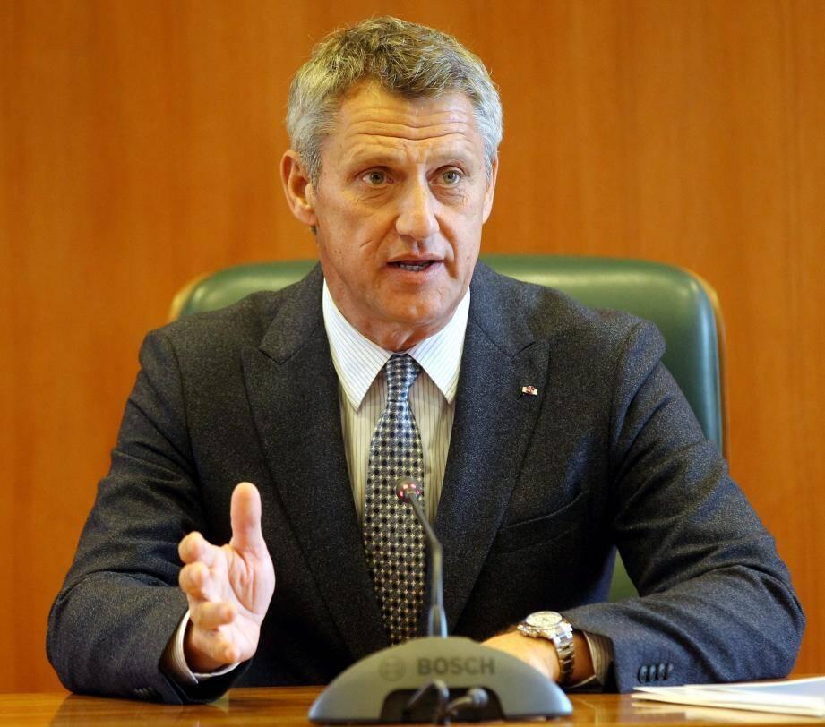 Philippe Narmino, directeur des Services judiciaires, a rendu public hier les chiffres-clés d'une année d'activité judiciaire.