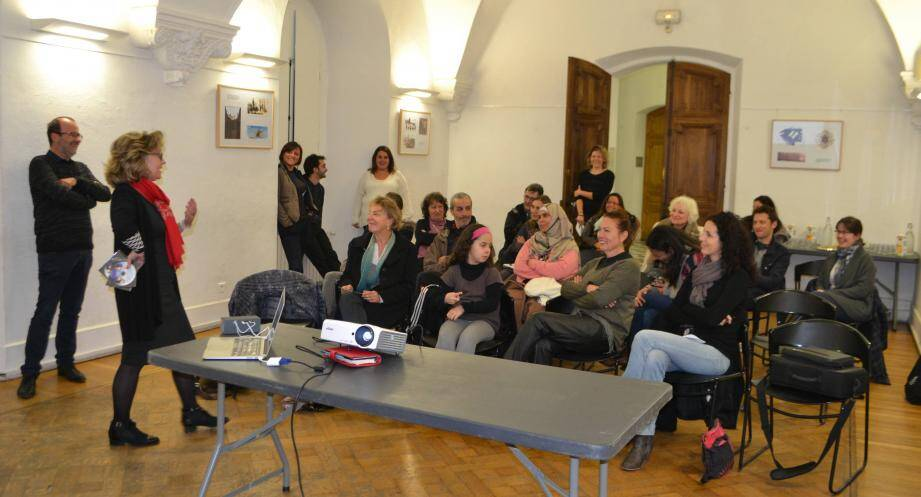 Le programme SFP, ouvert à toutes les familles mouansoises, a fait l'objet d'une réunion de présentation.