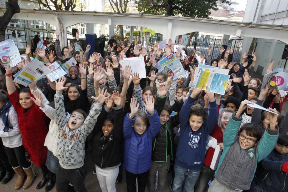 Hier, les élèves de Rothschild, ont été sensibilisés à l'environnement avec des ateliers autour de la mobilité durable.