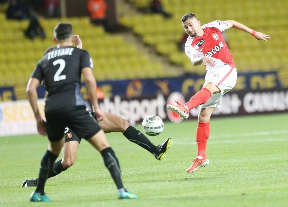 Gabriel Boschilia a encore marqué des points hier soir.