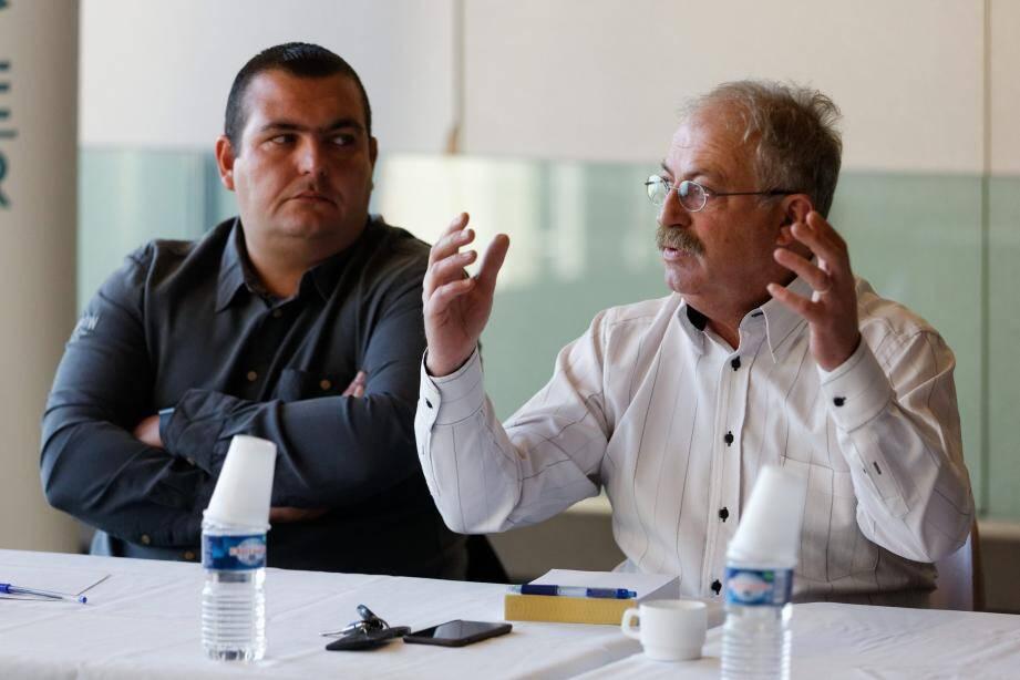 Marc Vuillemot, le maire de La Seyne, a animé un petit-déjeuner avec les CIL de la commune lors duquel les inquiétudes ont été réaffirmées quant au projet de transit de  2,2 millions de tonnes de calcaire extrait d'une carrière du Revest, par Brégaillon, pour Monaco.
