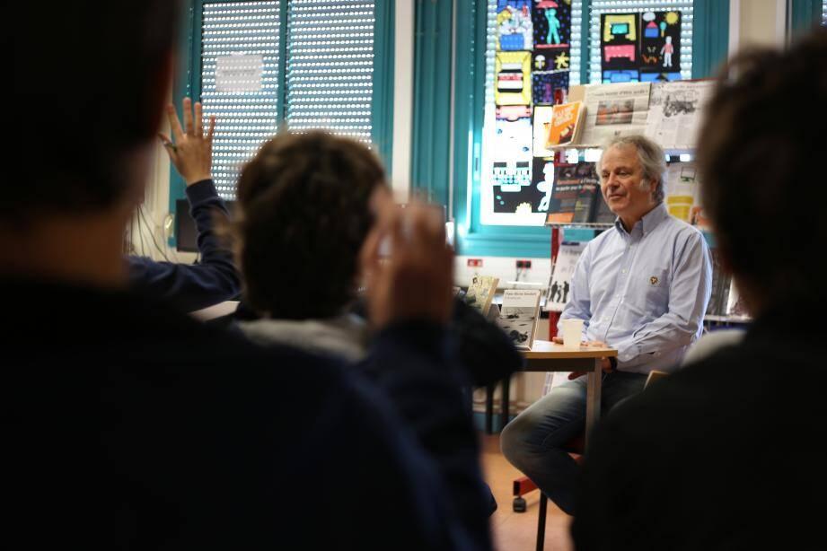 Franz-Olivier Giesbert était à Fabre mercredi dans le cadre de « Lecture pour tous ».