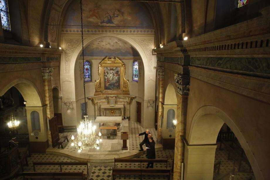 Construite en plusieurs étapes à partir de 1580, l'église Saint-Jacques-le-Majeur était le principal édifice religieux en venant de Saint-Paul.
