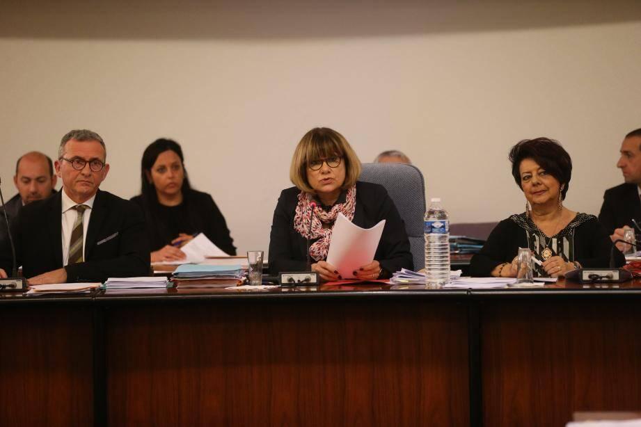 Le premier adjoint Michel Bertrand et le maire Michelle Salucki ont gelé l'acompte de 15 000 e pour 2017.