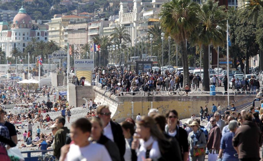 Nice reste la deuxième destination française préférée des touristes.