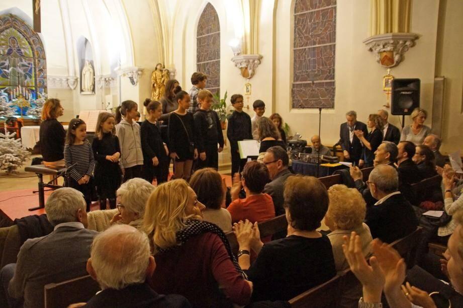 Les élèves du Conservatoire intercommunal de Musique et des Arts de Cap-d'Ail ont donné le meilleur d'eux-mêmes.