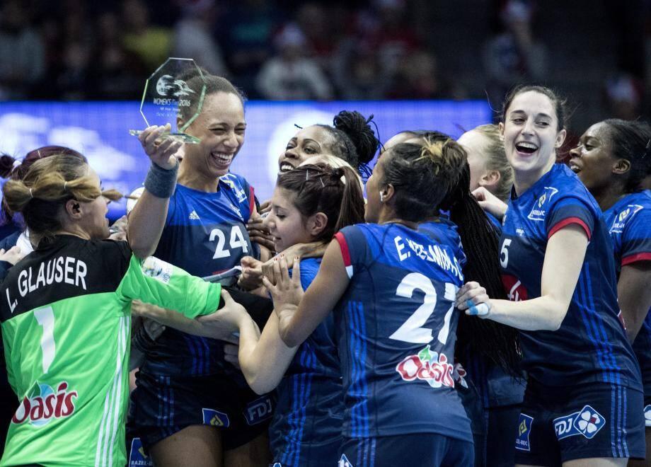 Les Françaises décrochent une troisième médaille européenne.