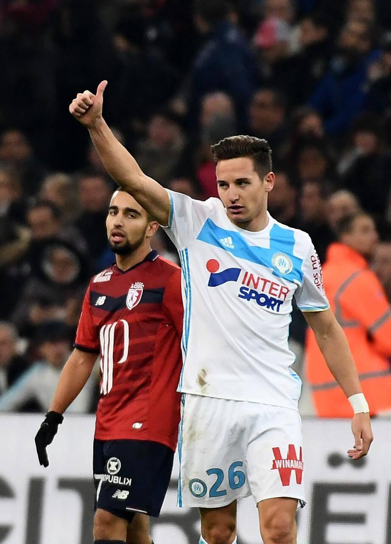 En Ligue 1, Gomis et Thauvin ont inscrit à eux deux 70% des buts de leur équipe cette saison (14 des 20 buts marseillais).