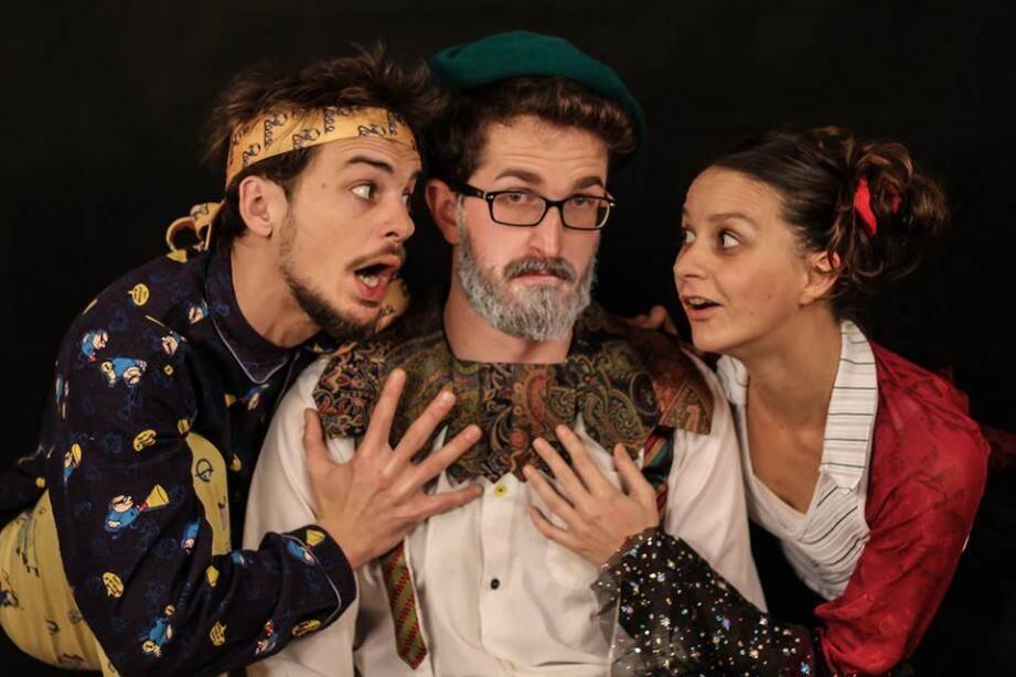 Jérémy Fouix, Thomas Pizzotti et Déborah Falbo seront sur la scène d'Antibea aujourd'hui et demain.