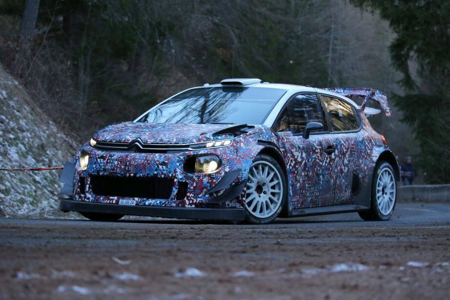 Citroën fera son come-back en rallye avec cette C3 WRC qui s'annonce redoutable.