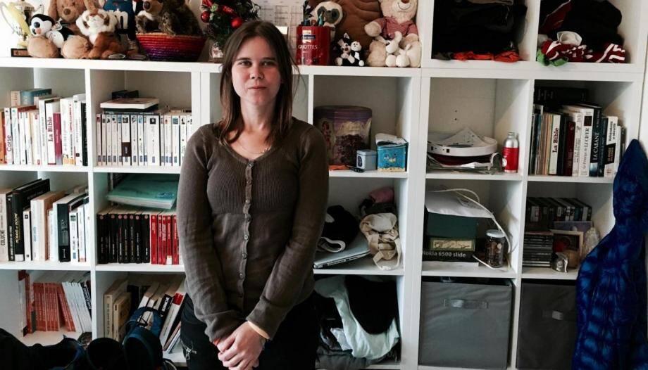 Noémya Grohan, de Villeneuve-Loubet, a créé l'association Généraction  Solidaire pour lutter contre le harcèlement scolaire.(DR)
