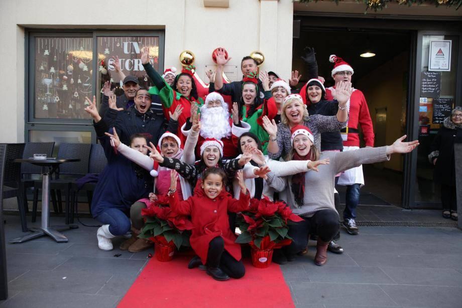 Les commerçants de la cité marchande ont kidnappé le Père Noël !