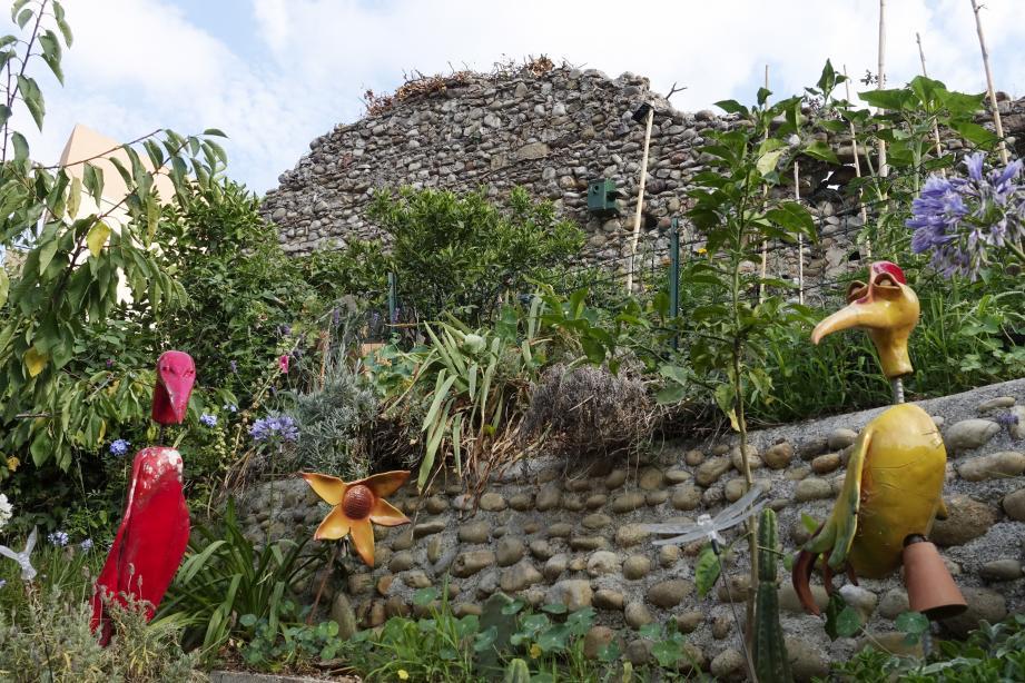 Huit mètres de remparts ayant une valeur historique ont été sauvés d'une disparition annoncée.(Archives L.T.)