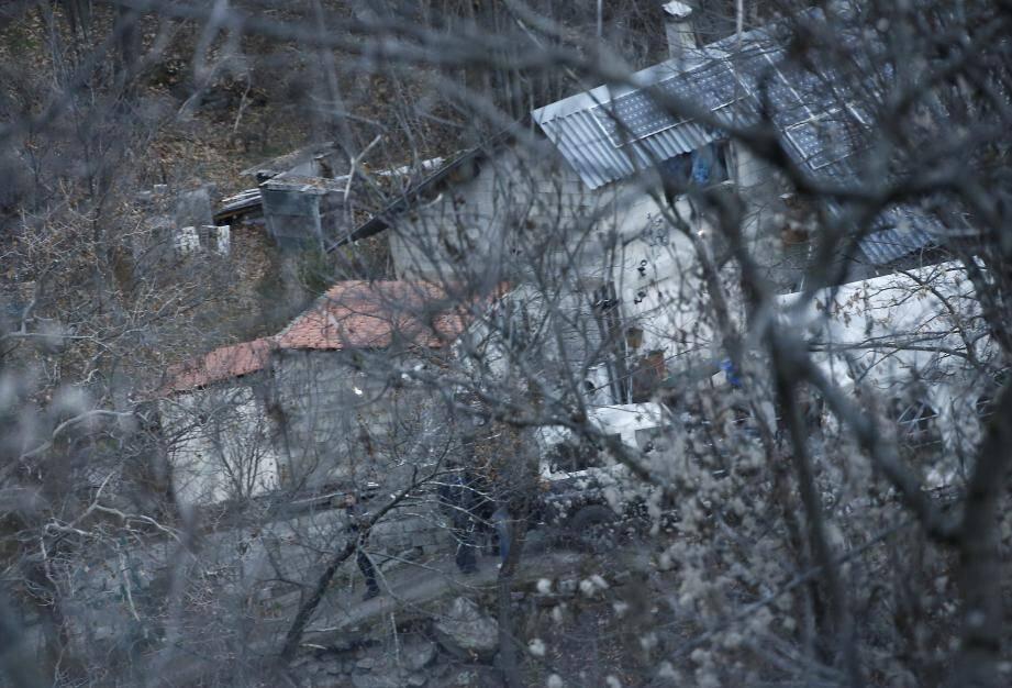 Le drame est vraisemblablement survenu mercredi dans cette maison située en pleine forêt.