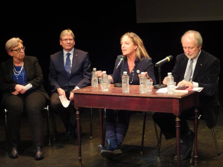 Le fondateur d'Arte a été convié par les Alliances françaises de Nice et Monaco pour une conférence.(DR)