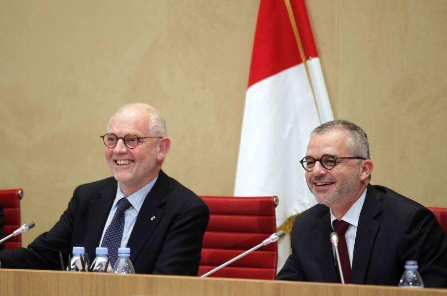 Serge Telle et Christophe Steiner : il y a comme un petit air de ressemblance, non ?