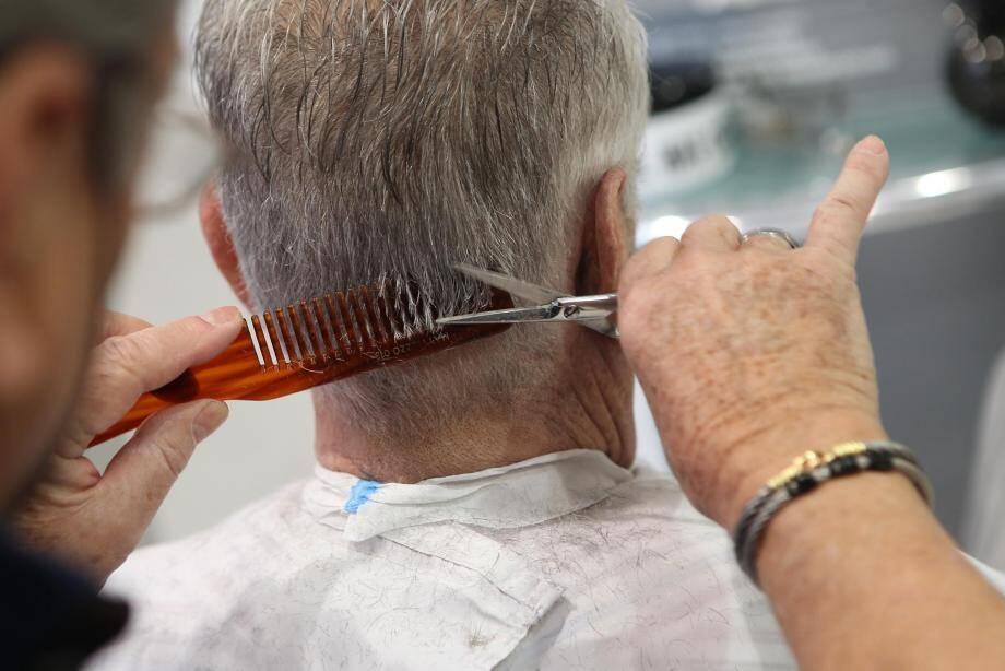 Illustration d'un coiffeur.