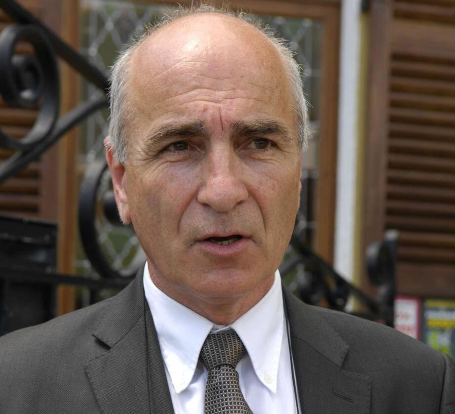 Richard Ribéro, maire de Bar-sur-Loup