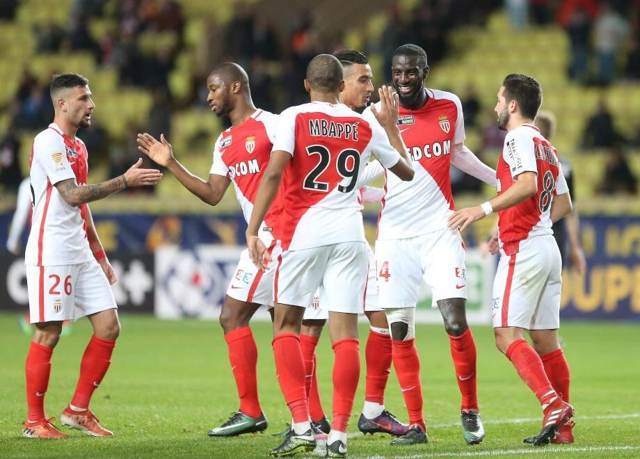 Monaco n'a pas perdu de temps avec Rennes...