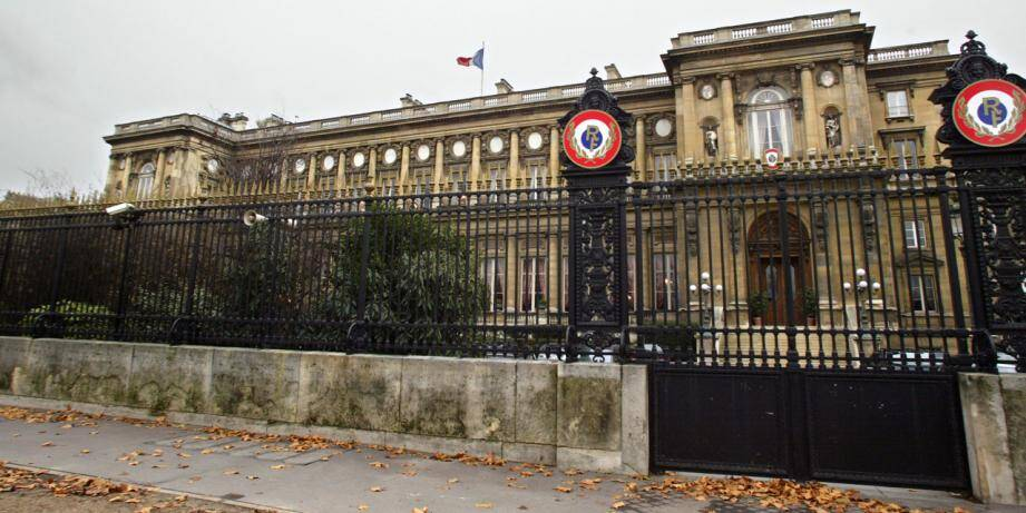 Le ministère des Affaires étrangères à Paris