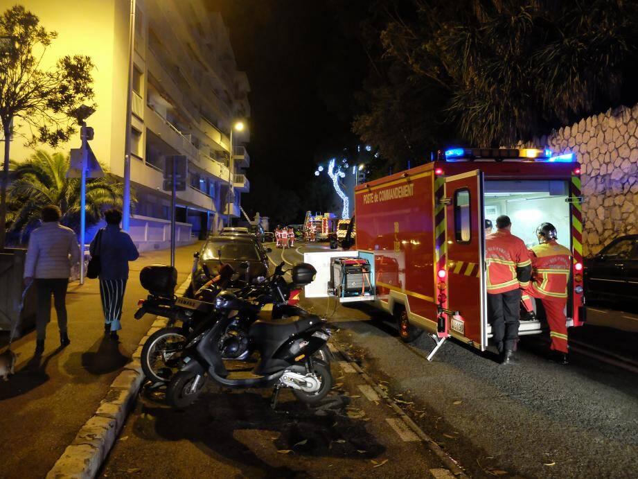 L'incendie s'est déclaré mardi soir, peu avant 23h30.