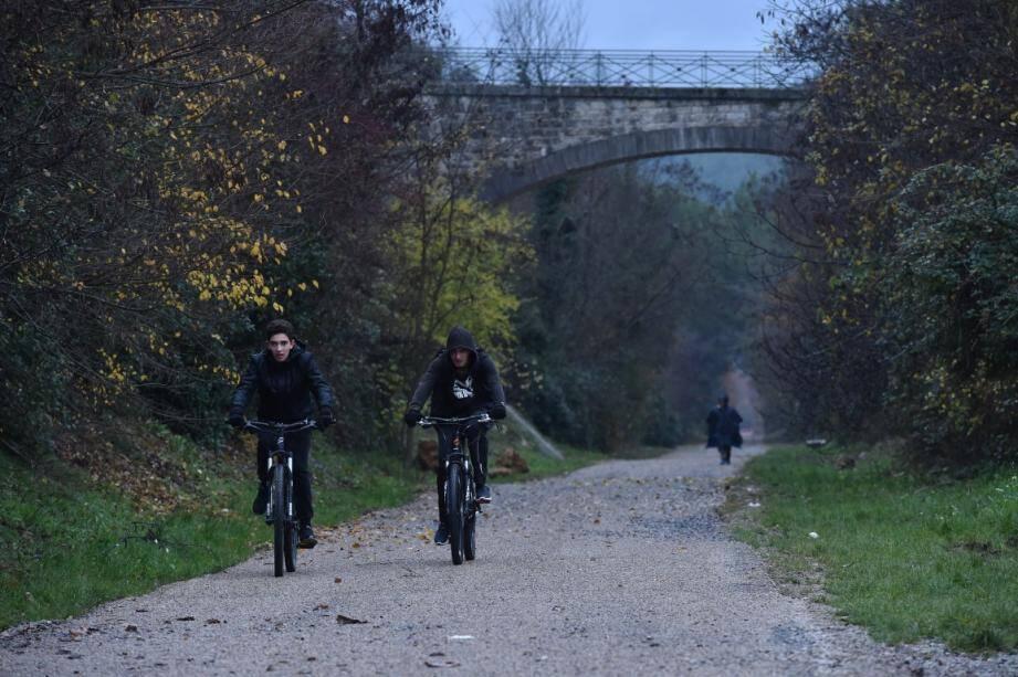 Le tronçon relie Draguignan et Trans-en-provence.