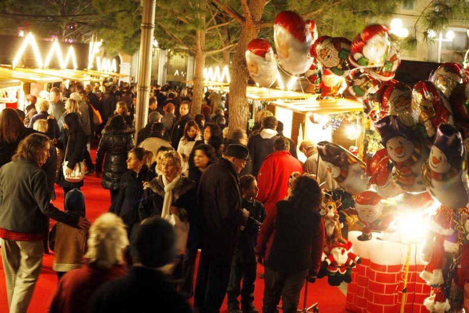 Image d'illustration, marché de Noël.