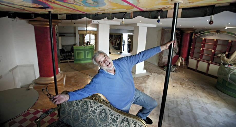 Jean-Pierre Speidel n'animera plus un musée de l'insolite mais l'homme n'abandonne, ni ses rêves, ni ses projets.