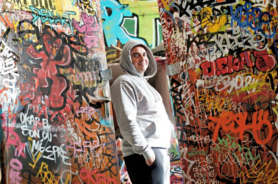 Faben, artiste graffeur Faben